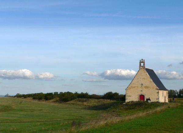 La chapelle Sainte-Anne à Saint-Broladre