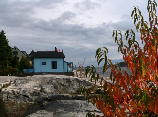 Du côté de la Baie de Tadoussac (Québec)