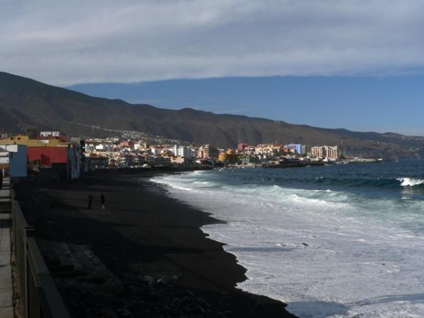 Plage noire, Tenerife