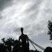 Une des sculptures du Le Jardin Camifolia à Chemillé (49)