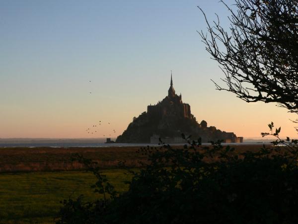 Matin de marée- Baie du Mt-St-Michel