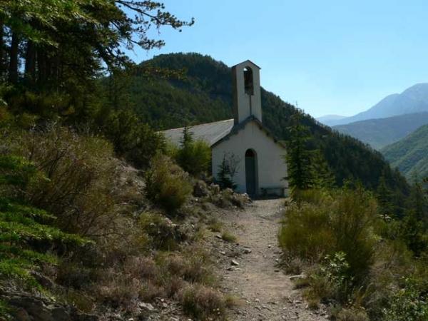 La chapelle de La Javie (04)