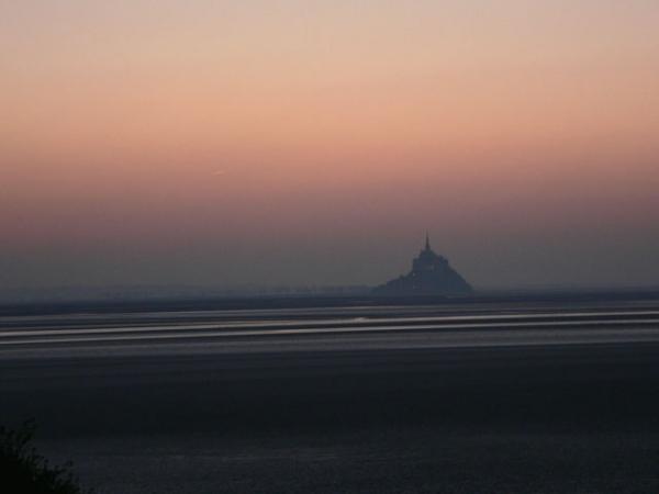 Le Mont vu de la Manche
