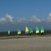 Char à voile. Baie du Mt-St-Michel